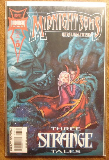 Midnight Sons Unlimited #6 comic book - Marvel comics