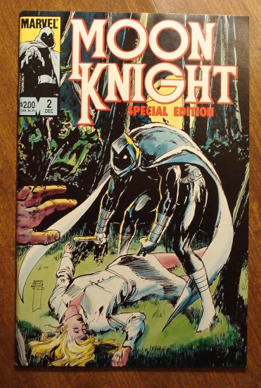 Moon Knight: Special Edition #2 comic book - Marvel Comics