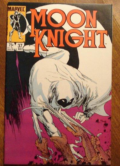 Moon Knight #37 (1980's series) comic book - Marvel Comics