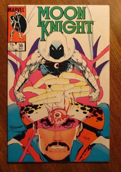 Moon Knight #36 (1980's series) comic book - Marvel Comics