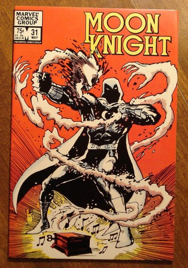 Moon Knight #31 (1980's series) comic book - Marvel Comics