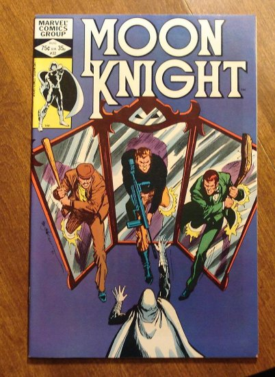 Moon Knight #22 (1980's series) comic book - Marvel Comics