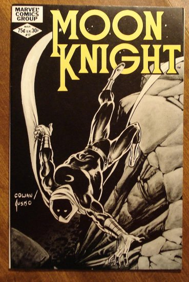 Moon Knight #17 (1980's series) comic book - Marvel Comics
