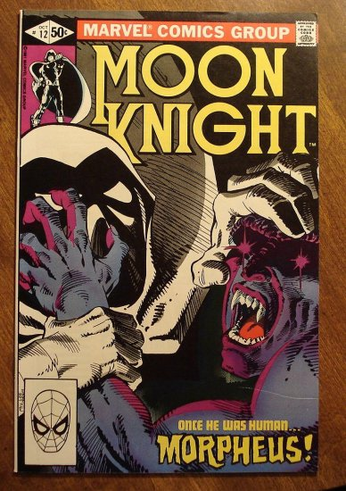 Moon Knight #12 (1980's series) comic book - Marvel Comics