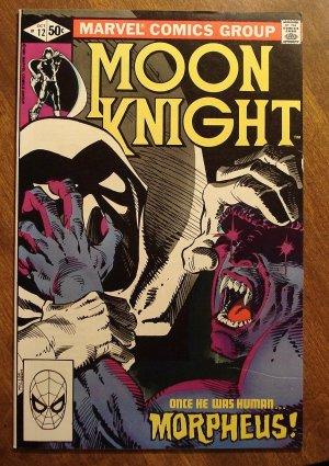 Moon Knight #12 (1980's series) comic book - Marvel Comics