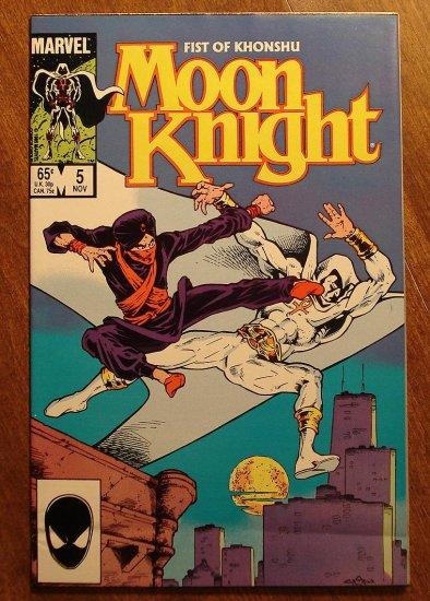 Moon Knight: Fist of Khonshu #5 comic book - Marvel Comics