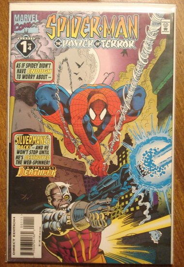 Spider-Man: The Power of Terror #1 comic book - Marvel Comics, (spiderman)