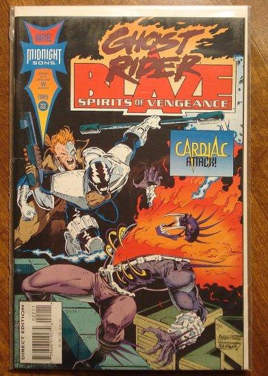 Ghost Rider & Blaze: Spirits of Vengeance #22 comic book - Marvel Comics