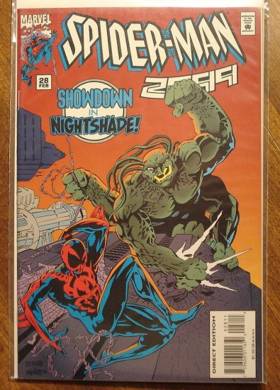 Spider-Man 2099 #28 comic book - Marvel Comics, (spiderman)