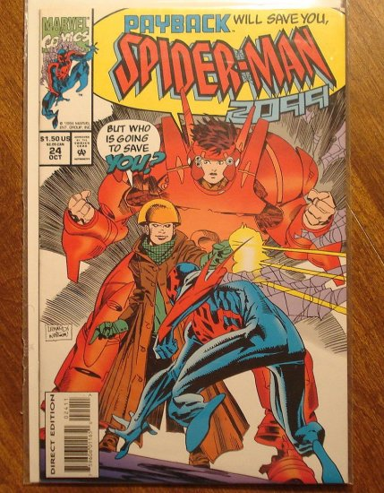 Spider-Man 2099 #24 comic book - Marvel Comics, (spiderman)