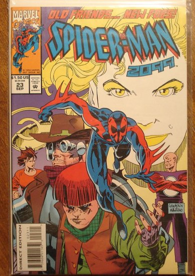 Spider-Man 2099 #23 comic book - Marvel Comics, (spiderman)