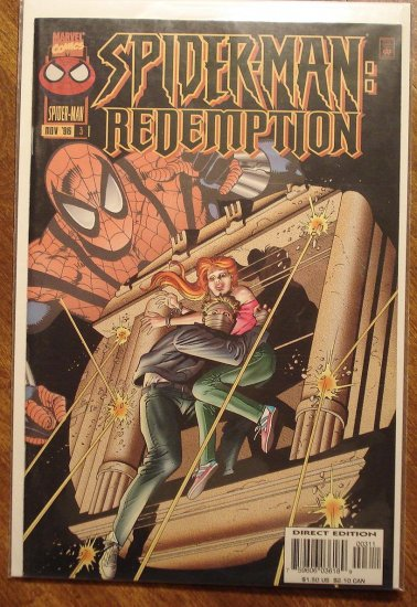 Spider-Man: Redemption #3 comic book - Marvel Comics, (spiderman)