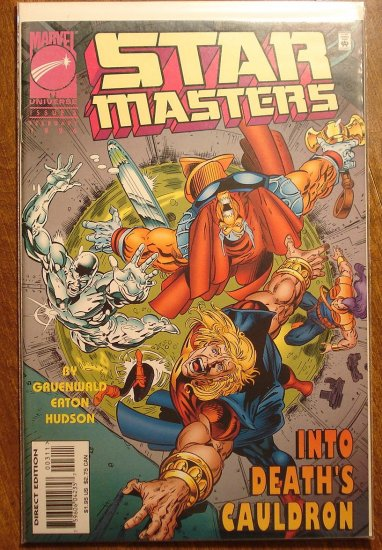 Star Masters #3 comic book - Marvel Comics