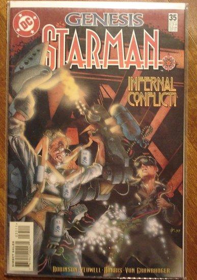 Starman #35 comic book - DC Comics