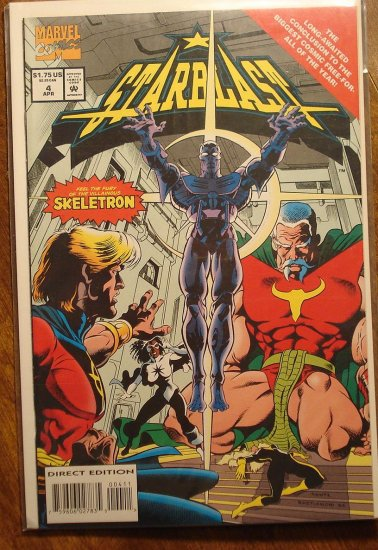 StarBlast #4 comic book - Marvel Comics