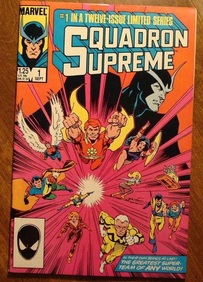 Squadron Supreme #1 (1980's) comic book - Marvel Comics