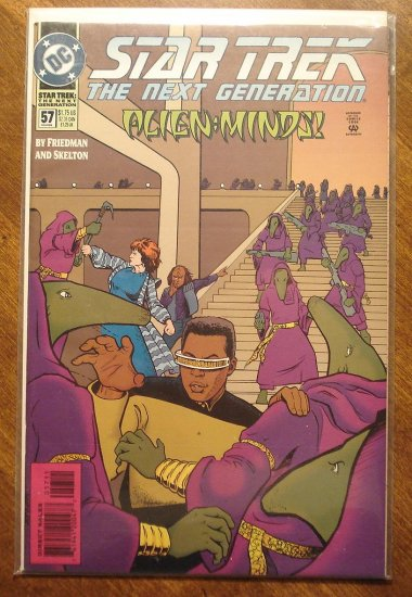 Star Trek: The Next Generation #57 comic book - DC Comics