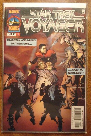 Star Trek: Voyager #5 comic book - Marvel Comics
