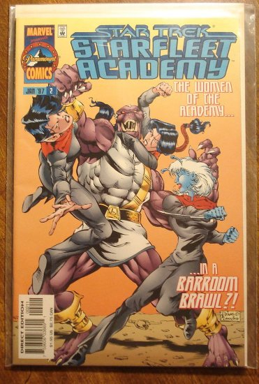 Star Trek: Starfleet Academy #2 comic book - Marvel Comics