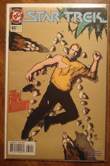 Star Trek #63 comic book  - DC Comics