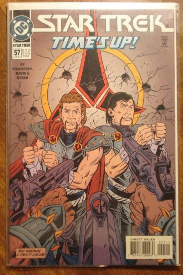 Star Trek #57 comic book  - DC Comics