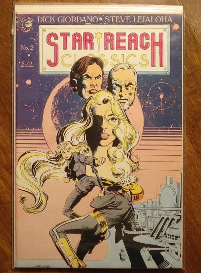 Star Reach Classics #2 comic book  - Eclipse Comics