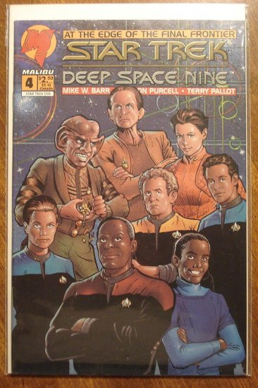 Malibu Comics Star Trek: Deep Space Nine (DS9) #4 comic book