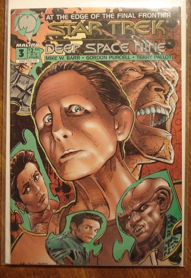 Malibu Comics Star Trek: Deep Space Nine (DS9) #3 comic book