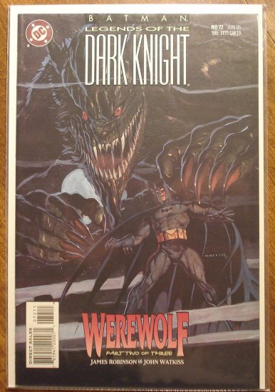 Batman Legends of the Dark Knight #72 comic book - DC Comics