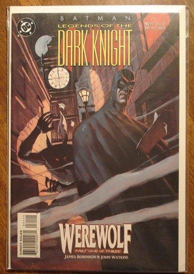 Batman Legends of the Dark Knight #71 comic book - DC Comics