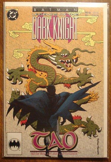 Batman Legends of the Dark Knight #53 comic book - DC Comics