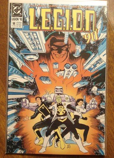 L.E.G.I.O.N. '90 #18 comic book - DC Comics, Legion of Super-Heroes, LSH