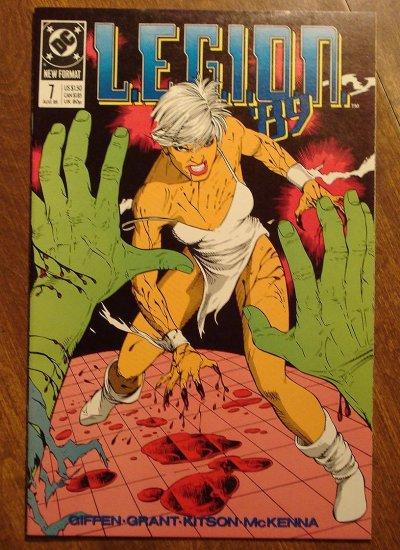 L.E.G.I.O.N. '89 #7 comic book - DC Comics, Legion of Super-Heroes, LSH