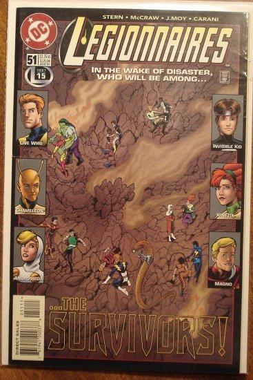 Legionnaires #51 comic book - DC Comics, Legion of Super-Heroes, LSH