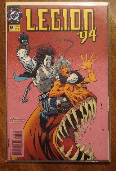 L.E.G.I.O.N. '94 #65 comic book - DC Comics, Legion of Super-Heroes, LSH