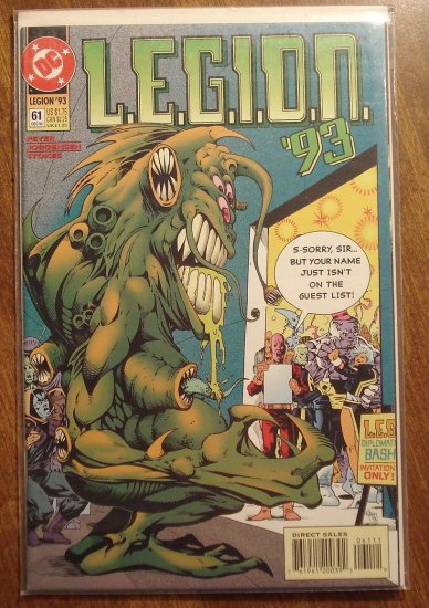 L.E.G.I.O.N. '93 #61 comic book - DC Comics, Legion of Super-Heroes, LSH