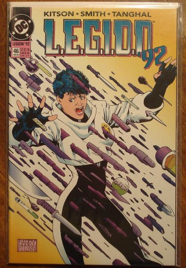 L.E.G.I.O.N. '92 #46 comic book - DC Comics, Legion of Super-Heroes, LSH