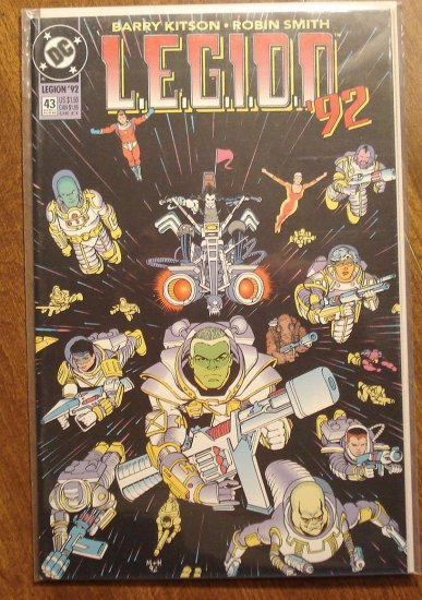 L.E.G.I.O.N. '92 #43 comic book - DC Comics, Legion of Super-Heroes, LSH
