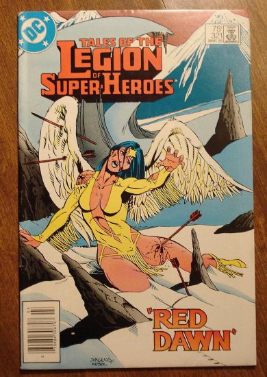 Legion of Super-Heroes #321 comic book - DC Comics, LSH, (Formally Superboy & the...)