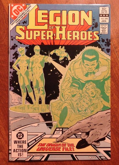 Legion of Super-Heroes #295 comic book - DC Comics, LSH, (Formally Superboy & the...)