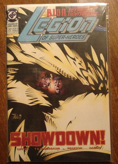 Legion of Super-Heroes #27 comic book - DC Comics, LSH