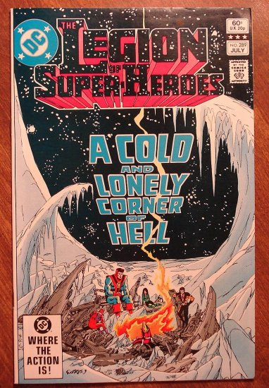 Legion of Super-Heroes #289 comic book - DC Comics, LSH, (Formally Superboy & the...)