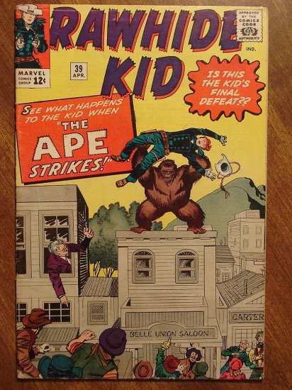 Rawhide Kid #39 (1964) VG+ comic book - Marvel Comics