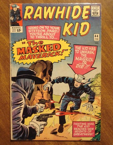Rawhide Kid #44 (1965) VG- comic book - Marvel Comics
