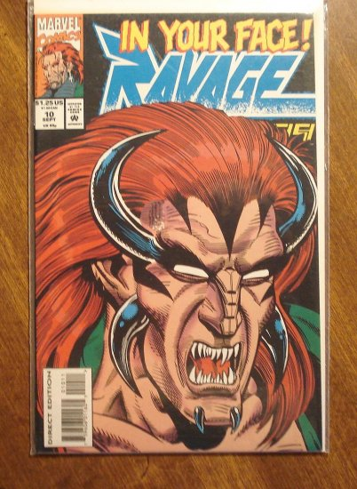 Ravage 2099 #10 comic book - Marvel Comics