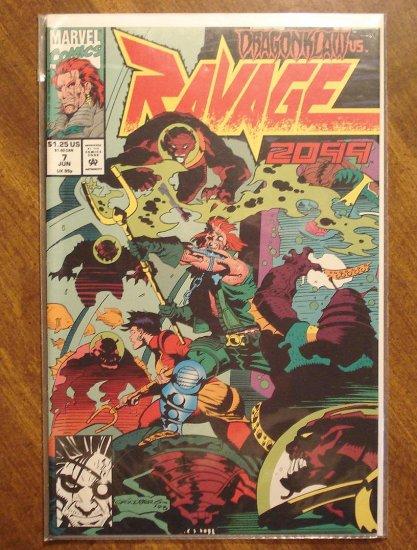Ravage 2099 #7 comic book - Marvel Comics