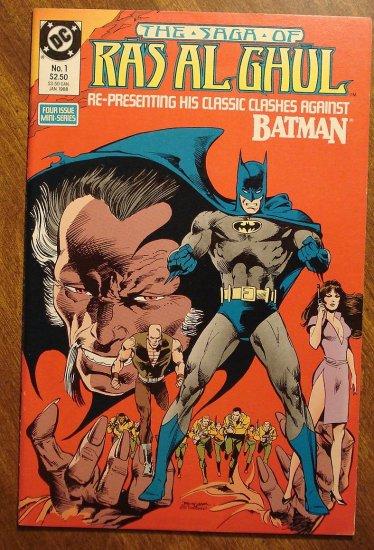 DC Comics - Batman: The Saga of Ras Al Ghul #1 comic book NM/M, Neal Adams art