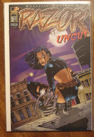 Razor Uncut #29 comic book - London Night comics - adults only!