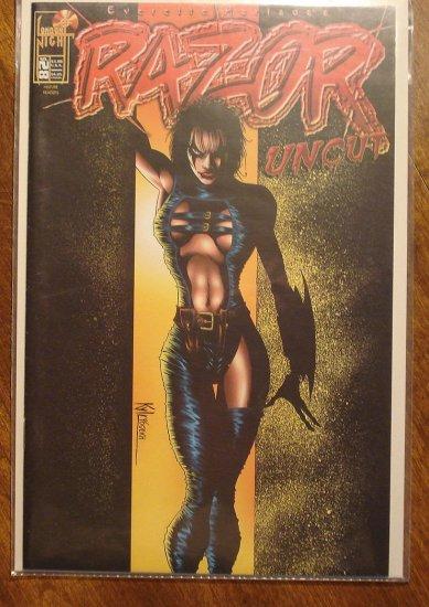 Razor Uncut #28 comic book - London Night comics - adults only!