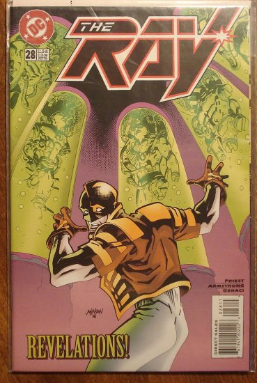 The Ray #28 comic book  - DC Comics